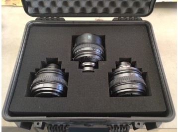 SCL x3 : 35,50,85mm Used / Occasion
