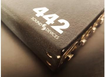 sound devices 442 audio mixer mixette portable