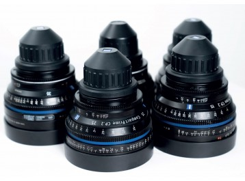 CP2 15,25,35,50 85mm  ZEISS  Used / Occasion