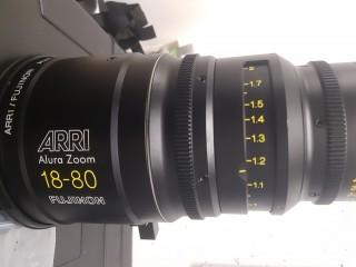 ARRI Fujinon ALURA 18-80 T2.6 PL Used / Occasion