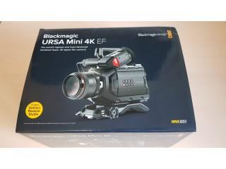 Blackmagic URSA MINI 4K EF ex-demo