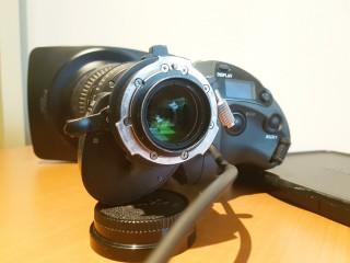 CANON HJ11eX4.7B  IRSE HJ11 HJ11x HD Wide angle lens