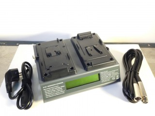 Double fast charger simultaneous for batteries BP Lithium VP3