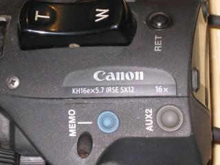 """KH16e x 5.7 IRSE canon 1/2 """" KH16x KH16"""