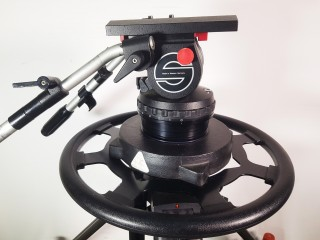 SACHTLER VIDEO 25 + Pedestal + dolly Used / Occasion