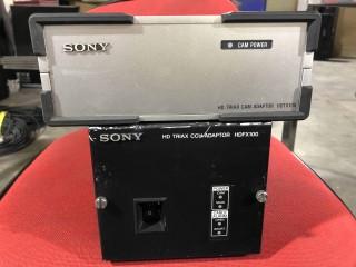 sony HDFX100 + HDTX100 HDTX HDFX