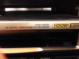 HDW-D2000 SONY HDW D2000 HDWD2000 HDCAM