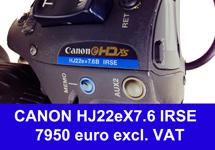 canon hj22x birse